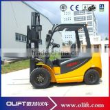 AC Motor mini four wheels electric forklift truck 2.5tons 6m                                                                         Quality Choice