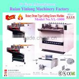 Groove Cutting Machine,Paper Box Groove Cutting Machine,Ruian Factory Rotary Drum Type Cutting Groove Machine YL-1000,