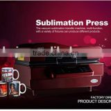 3d sublimation vacuum heat press printer magic mug printing machine