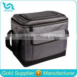 Durable Nylon Insulated Collapsible Cooler Bag PEVA Liner Collapsible Cooler Bag With Logo