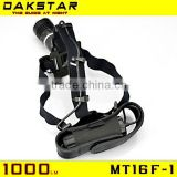DAKSTAR NEW INVENTIONS MT16F-1 CREE XML T6 1000LM 26650/18650 Multifunction Rechargeable High Power LED Head Lamp