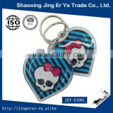 custom skull gifts Acrylic keychain souvenir key holder