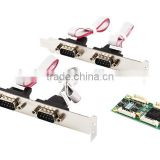 MINI PCI-E to 4 port RS422/485 industrial serial port card MINI PCIE TO 422 IO-MPCE354A-4S