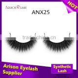 High Quality Natural 3D Faux Mink Lashes Eyelash Extensions Wholesale False Eyelash packaging