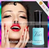 2015 high quality OEM private label cosmetics three step V.Chlo uv nail gel polish 132colors