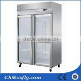 upright mobile modern kitchen refrigerated cabinet for hotel