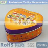 heart shape food grade tin can for candy packing                                                                         Quality Choice