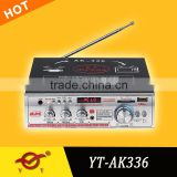 antenna amplifier for car radio YT-336 Chinese cheap products with USB/SD/remote control SUPPORT MP5
