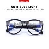 wholesale Resin Lens Material anti radiation glasses blue light blocking eyeglasses