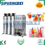 1000L one stage SUS 316L RO membrane electrolytic water treatment system machine for sale
