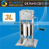 High speed hot selling used sausage making tying machine stuffer manual with Low Price                                                                         Quality Choice