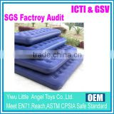 Flocking PVC Customized King Size Air Bed