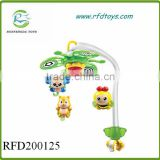 Wind up bed bell toy baby mobile toy music box baby musical bell