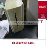 factory best polyurethane foam sandwich panels , second hand cold room panels , pu panel for coolroom