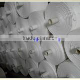 Virgin new material/White woven bag rolls / fabric roll / PP woven tubular fabric for making rice, fertilizer, plastic bags