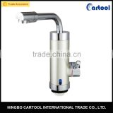 220V 3000W tankless electric faucet kitchen water heater mixer tap                                                                                                         Supplier's Choice