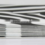 A4 size,3mm 2mm 5mm 15-30 degree zebra-stripe color eva foam sheet eva sheet for slipper sample