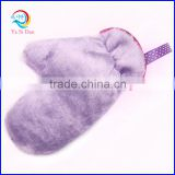 High Performance Microfiber Cleaning Usage Microfiber Dusting Gloves Microfiber Hair Drying Glove