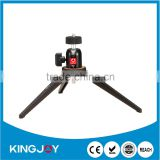 Tabletop Folding Mini Tripod with Swivel Ball Head for Any DSLR, Digital Camera, Spotting Scope, Camcorder & Smartphone