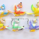4 inch Plastic Art Customized Animal Handmade Cartoon Bird Fridge Magnets For Home Decoration