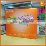2016 Promotional aluminium tube pop up trade show wall display banner