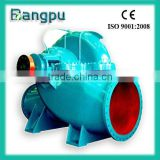 BPO series dual suction split casing centrifugal high volume low pressure electric water pumps
