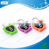 AJF new arrival fashion modeling 3 digits colorful butterfly shape newest unique padlock