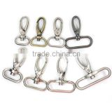Eco-friendly best price different size metal zinc alloy belt buckle hook for bags