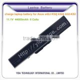 charge laptop battery without charger for Asus X42J K52j k52d A32-K52