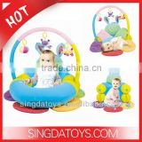 2014 Hot Inflatable Baby Activity Gym & Sofa Baby Play Mat