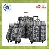 Aluminum Trolley With Press Button Balck Luggage Bag Famous Langchao Brand Eminet Suitcase