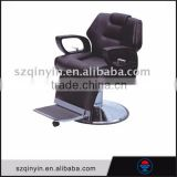 Hot sale foot massage basin black leather cheap vintage barber chair