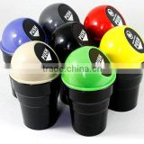 BT05A PP material Promostional smart Car mini plastic push bin with swing lid