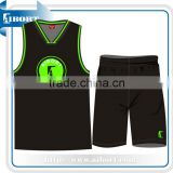2014 new style short sleeve basketball Wear 100% polyester sportwear