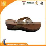 Fashion fancy elegant high-quality branded PCU shoes for ladies, hot sale beach PCU shoes in slipper