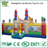 inflatable amusement park toys,inflatable bouncy playground,commercial inflatable playground for sales