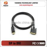 displayport dp to dvi adapter dp cable
