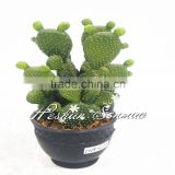 China wholesale manufacturer artificial cactus plant ball cactus bonsai with high quality