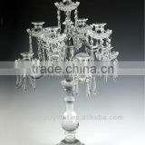 Soft light of Pillar Crystal Candle Holders with appealing shape in china