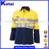 Factory Direct Sales All Kinds Of Mining Safety Yellow Work Wear