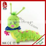 Coloful Caterpillar toys,Plush Caterpillar baby toys