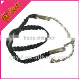 New Design Fashion Beaded Chain With Decorated metal belt Heart For Women