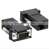 VGA Extender Adapter To CAT5/CAT6/RJ45 Cable