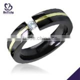 2015 cheap price jewelry 316l stainless steel tungsten ring class ring
