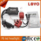 Super Bright led motorcycle headlight 5200LM 45W 55W car P6 led headlight h7 h1 h11 9005 9007