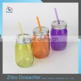 High Quality Colored Water Jar Wholesale Drinking Bulk Mason Jars For Sale