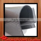 Two-tone Cross grain leather for making wall paper,flood paper,chair cover,,table pad