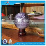 HJT Nature Amethyst crystal ball personalized quartz sphere