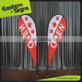 Advertising Usage and Aluminium,fiberglass Flagpole Material beach flag                                                                                                         Supplier's Choice