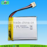 Li ion Battery For Battery Tester, 3.7V 2600mAh Lithium Titanate Battery